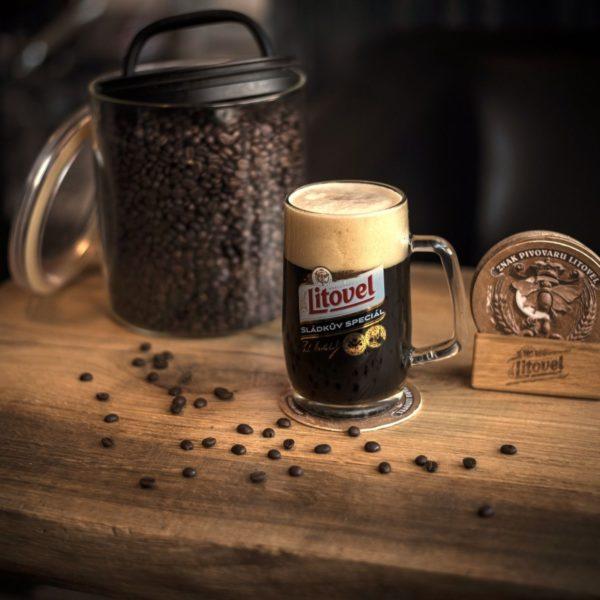 Kávové pivo z Rackové